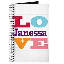I Love Janessa Journal