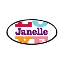 I Love Janelle Patches