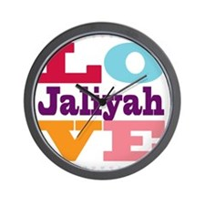 I Love Jaliyah Wall Clock