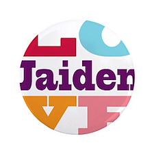 """I Love Jaiden 3.5"""" Button (100 pack)"""