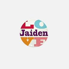 I Love Jaiden Mini Button