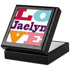 I Love Jaelyn Keepsake Box