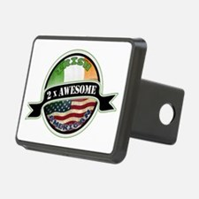 2x Awesome Irish American Hitch Cover