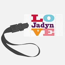 I Love Jadyn Luggage Tag