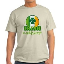 Irish Cashier St Patricks T-Shirt