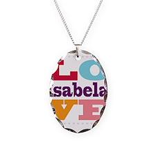 I Love Isabela Necklace