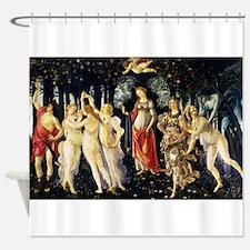 La Primavera (Spring) by Botticelli Shower Curtain