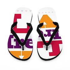 I Love Irene Flip Flops
