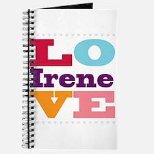 I Love Irene Journal