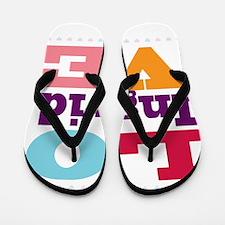I Love Ingrid Flip Flops