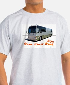 Tour Swag - Bus #1 Ash Grey T-Shirt