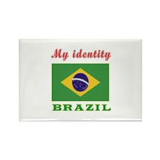 My Identity Brazil Rectangle Magnet