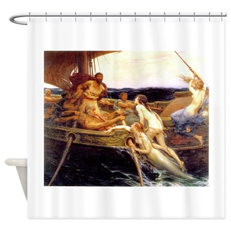 Draper - Ulysses & Sirens Shower Curtain