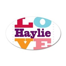 I Love Haylie Wall Decal