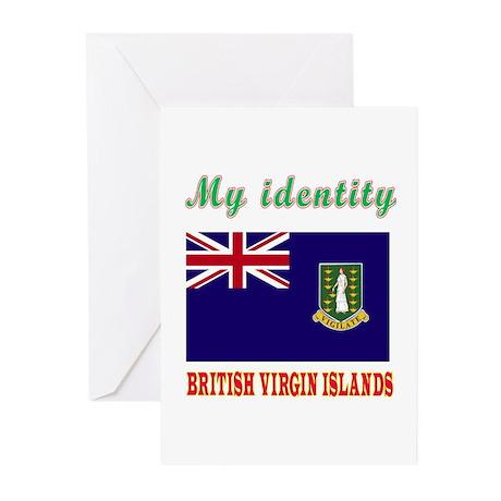My Identity British Virgin Islands Greeting Cards
