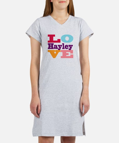 I Love Hayley Women's Nightshirt