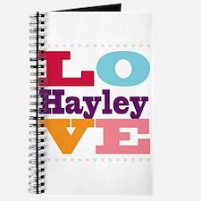 I Love Hayley Journal