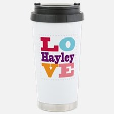 I Love Hayley Stainless Steel Travel Mug