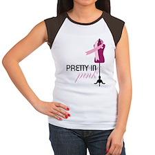 Pretty In Pink Women's Cap Sleeve T-Shirt
