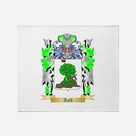 Auld Throw Blanket