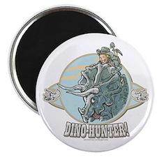 Dinosaur Hunter Magnet