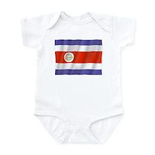 Pure Flag Costa Rica Infant Bodysuit