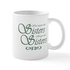 Green Sisters Small Mug