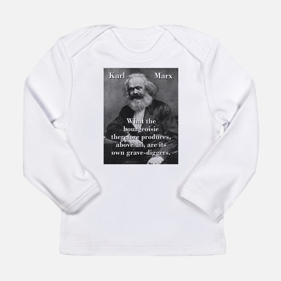 What The Bourgeoisie - Karl Marx Long Sleeve T-Shi