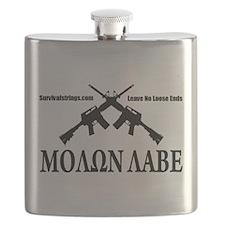 Survival Strings Molon Labe Flask