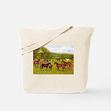 MARES & FOALS Tote Bag