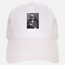 Working Men - Karl Marx Baseball Baseball Baseball Cap
