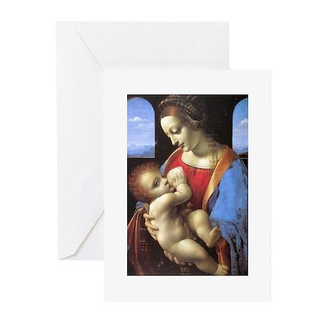 Madonna Litta Greeting Cards (Pk of 10)