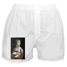 Lady with an Ermine Boxer Shorts
