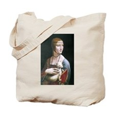 Lady with an Ermine Tote Bag