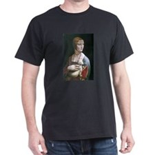 Lady with an Ermine T-Shirt