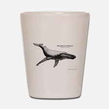 Unique Whale humpback Shot Glass