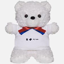Rock Paper Shotgun Teddy Bear