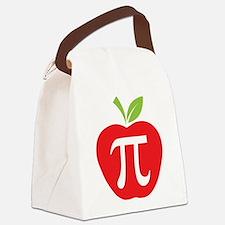 Apple Pi Canvas Lunch Bag