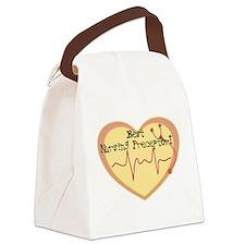 Cute Nursing preceptor Canvas Lunch Bag