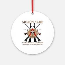 Molon Labe - Spartan Shield Ornament (Round)