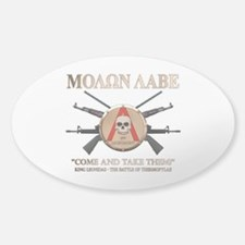 Molon Labe - Spartan Shield Decal