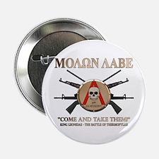 """Molon Labe - Spartan Shield 2.25"""" Button"""
