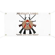Molon Labe - Spartan Shield Banner