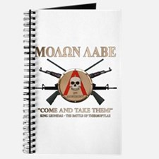 Molon Labe - Spartan Shield Journal