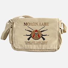 Molon Labe - Spartan Shield Messenger Bag