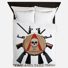 Molon Labe - Spartan Shield Queen Duvet