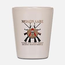 Molon Labe - Spartan Shield Shot Glass