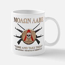 Molon Labe - Spartan Shield Mug