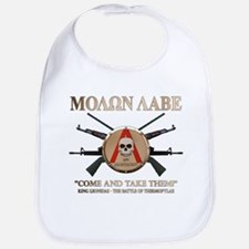 Molon Labe - Spartan Shield Bib