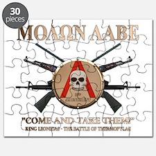 Molon Labe - Spartan Shield Puzzle